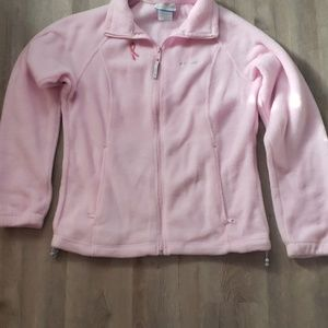 Pre-owned Columbia Breast cancer awareness fleece
